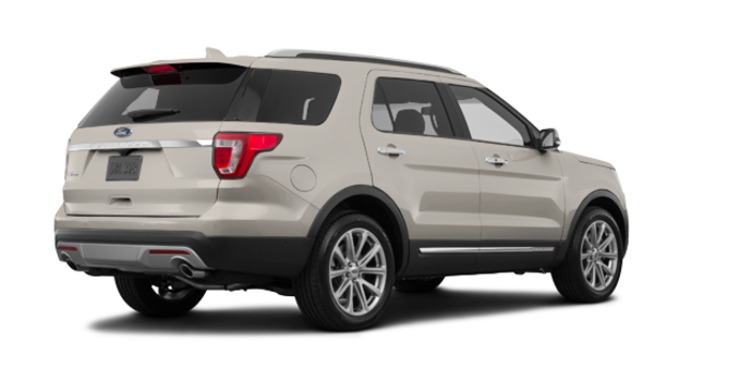 2017 Ford Explorer LIMITED | Photo 5 | White Gold