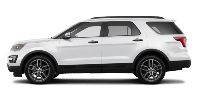 2017 Ford Explorer SPORT | Photo 4 | White Platinum