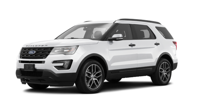 2017 Ford Explorer SPORT | Photo 6 | White Platinum