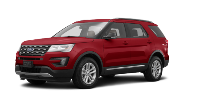 2017 Ford Explorer XLT | Photo 6 | Ruby Red