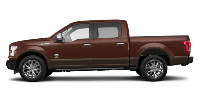 2017 Ford F-150 KING RANCH | Photo 4 | Bronze Fire/Caribou