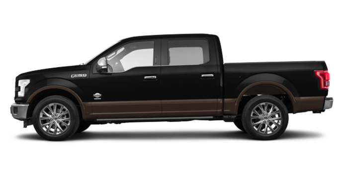 2017 Ford F-150 KING RANCH | Photo 4 | Shadow Black/Caribou