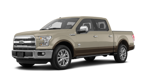 2017 Ford F-150 KING RANCH | Photo 6 | White Gold/Caribou