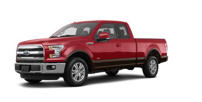 2017 Ford F-150 LARIAT | Photo 6 | Ruby Red Metallic/Caribou