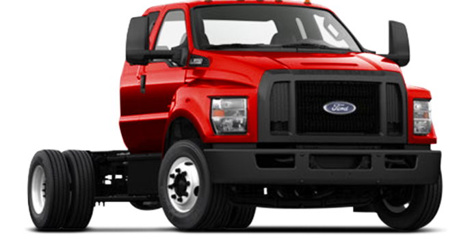 2017 Ford F-650 SD Diesel Pro Loader | Photo 4 | Race Red