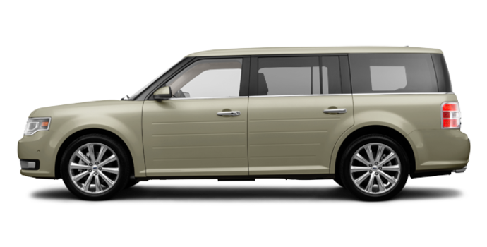 2017 Ford Flex LIMITED | Photo 4 | White Gold