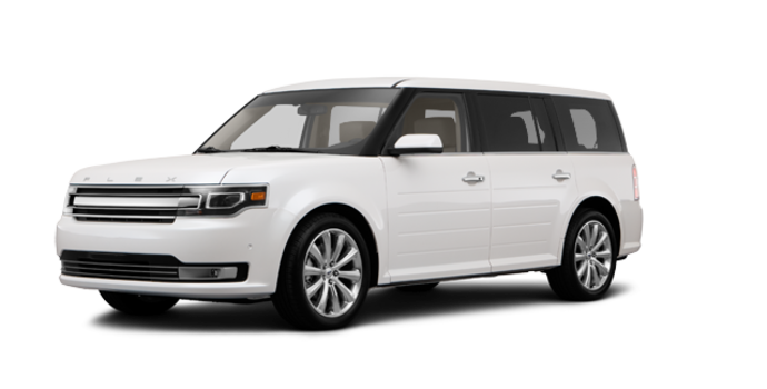 2017 Ford Flex LIMITED | Photo 6 | White Platinum