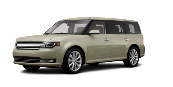 2017 Ford Flex LIMITED | Photo 6 | White Gold
