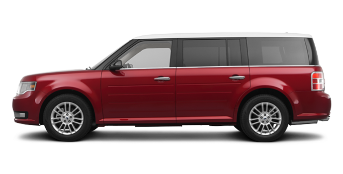 2017 Ford Flex SEL | Photo 4 | Ruby Red