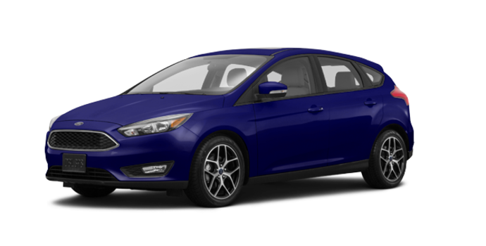 2017 Ford Focus Hatchback SEL | Photo 6 | Kona Blue
