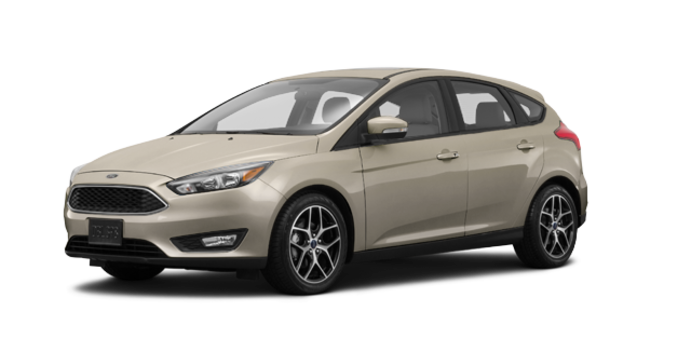2017 Ford Focus Hatchback SEL | Photo 6 | White Gold