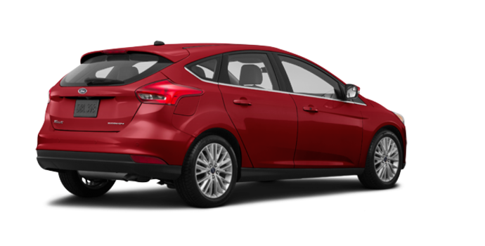 2017 Ford Focus Hatchback TITANIUM | Photo 5 | Ruby Red