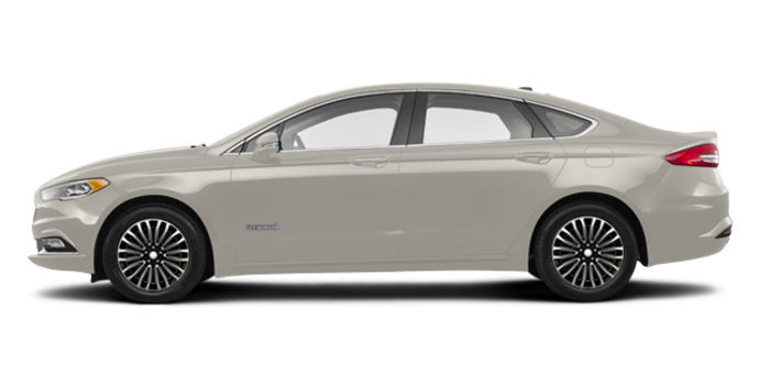 2017 Ford Fusion Hybrid PLATINUM | Photo 4 | White Gold