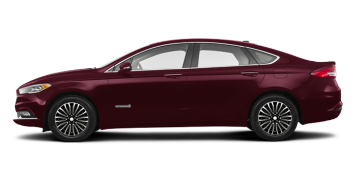 2017 Ford Fusion Hybrid PLATINUM | Photo 4 | Burgandy Velvet