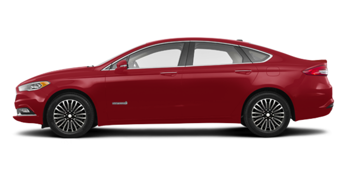 2017 Ford Fusion Hybrid PLATINUM | Photo 4 | Ruby Red