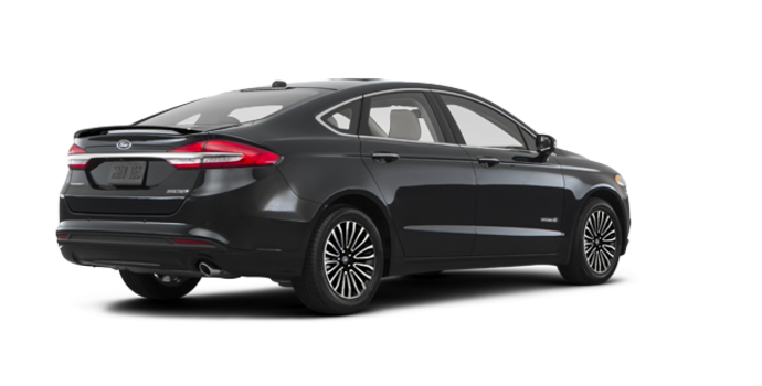 2017 Ford Fusion Hybrid PLATINUM | Photo 5 | Shadow Blakc