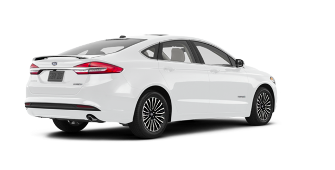 2017 Ford Fusion Hybrid PLATINUM | Photo 5 | Oxford White