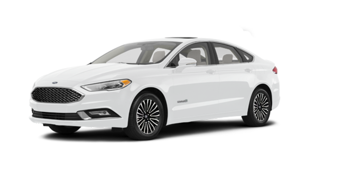 2017 Ford Fusion Hybrid PLATINUM | Photo 6 | Oxford White