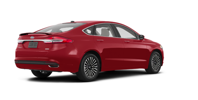 2017 Ford Fusion TITANIUM | Photo 5 | Ruby Red
