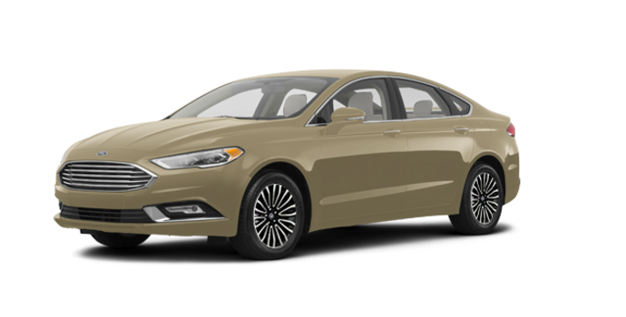 2017 Ford Fusion TITANIUM | Photo 6 | White Gold