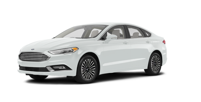 2017 Ford Fusion TITANIUM | Photo 6 | White Platinum