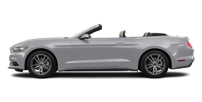 2017 Ford Mustang Convertible EcoBoost Premium | Photo 4 | Ingot Silver
