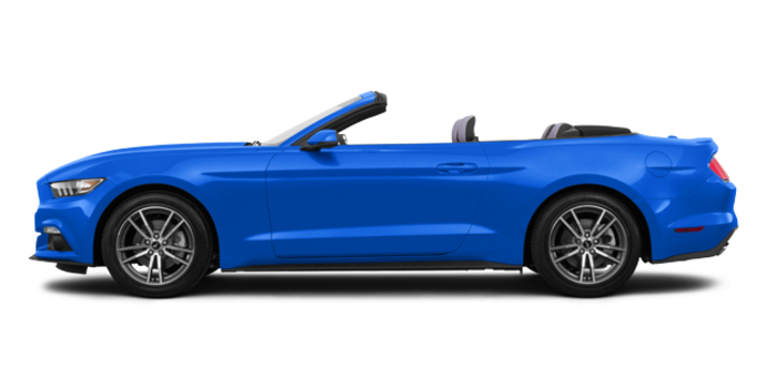 2017 Ford Mustang Convertible EcoBoost Premium | Photo 4 | Grabber Blue