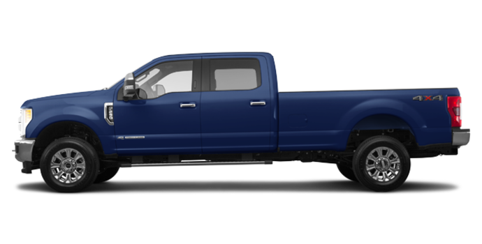 2017 Ford Super Duty F-250 KING RANCH | Photo 4 | Blue Jeans Metallic