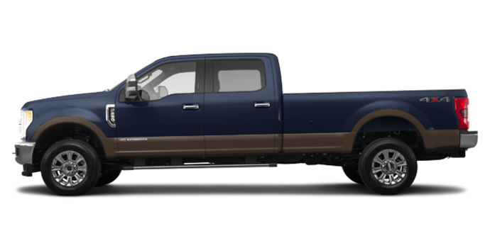 2017 Ford Super Duty F-250 KING RANCH | Photo 4 | Blue Jeans Metallic/Caribou