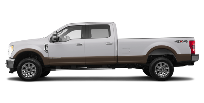 2017 Ford Super Duty F-250 KING RANCH | Photo 4 | Oxford White/Caribou