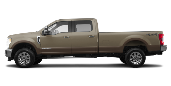 2017 Ford Super Duty F-250 KING RANCH | Photo 4 | White Gold Metallic/Caribou