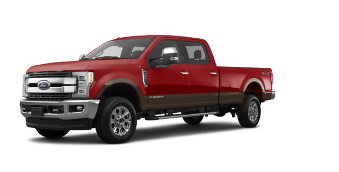 2017 Ford Super Duty F-250 KING RANCH | Photo 6 | Ruby Red/Caribou