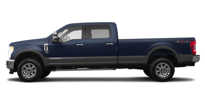 2017 Ford Super Duty F-250 LARIAT | Photo 4 | Blue Jeans Metallic/Magnetic
