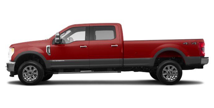 2017 Ford Super Duty F-250 LARIAT | Photo 4 | Ruby Red/Magnetic