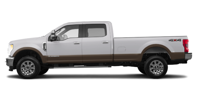 2017 Ford Super Duty F-250 LARIAT | Photo 4 | White Platinum Metallic/Caribou