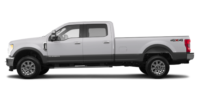 2017 Ford Super Duty F-250 LARIAT | Photo 4 | Ingot Silver Metallic/Magnetic