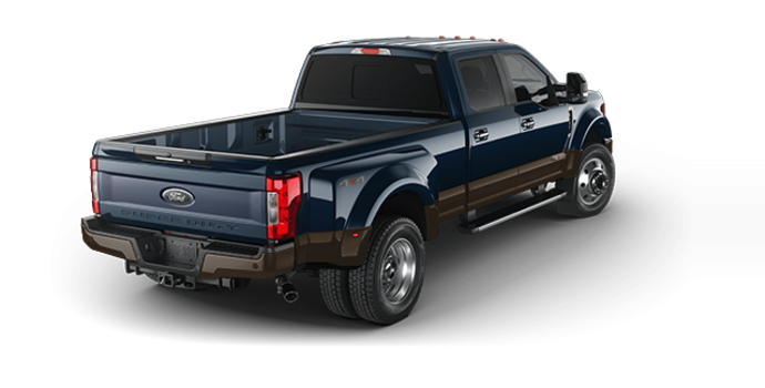 2017 Ford Super Duty F-450 LARIAT | Photo 5 | Blue Jeans Metallic/Caribou