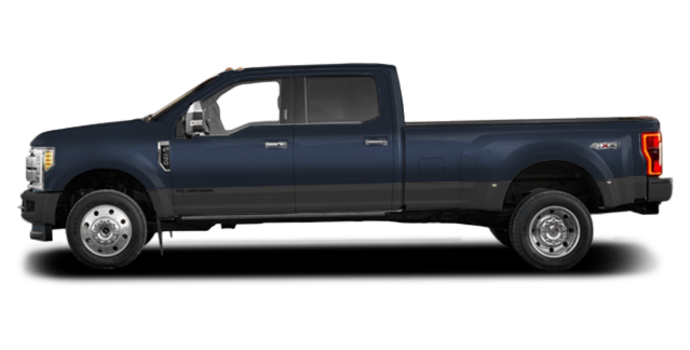 2017 Ford Super Duty F-450 LARIAT | Photo 4 | Blue Jeans Metallic/Magnetic