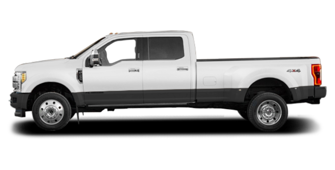 2017 Ford Super Duty F-450 LARIAT | Photo 4 | Oxford White/Magnetic