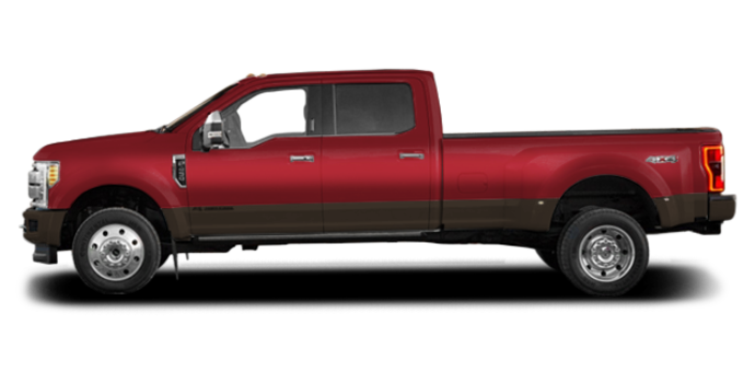 2017 Ford Super Duty F-450 LARIAT | Photo 4 | Ruby Red/Caribou