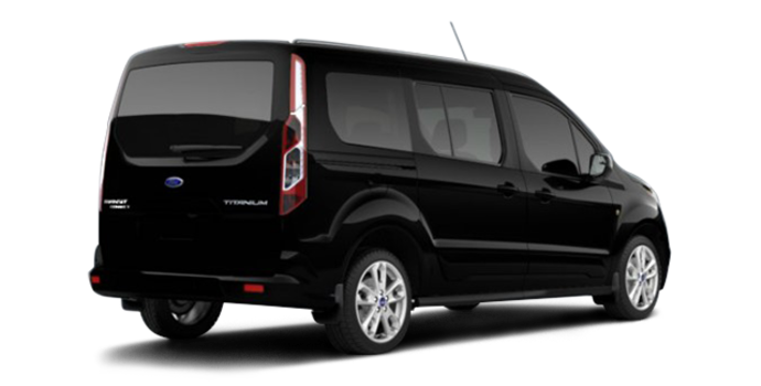 2017 Ford Transit Connect TITANIUM WAGON | Photo 5 | Shadow Black