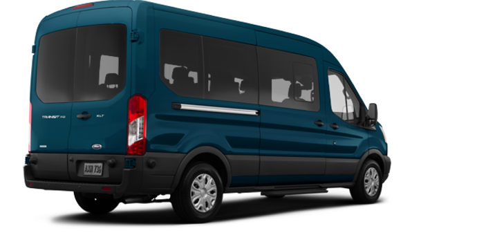 2017 Ford Transit WAGON XLT | Photo 5 | Blue Jeans Metallic