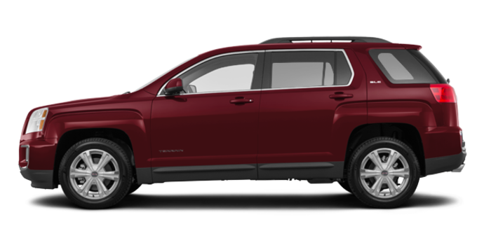 2017 GMC Terrain SLE-2 | Photo 4 | Crimson Red Tintcoat