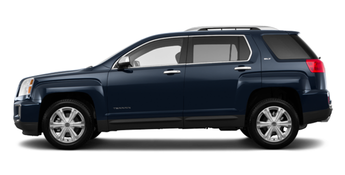 2017 GMC Terrain SLT | Photo 4 | Dark Sapphire Blue Metallic