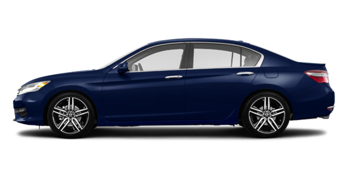 2017 Honda Accord Sedan TOURING V-6 | Photo 4 | Obsidian Blue Pearl