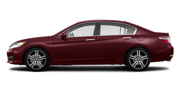 2017 Honda Accord Sedan TOURING V-6 | Photo 4 | Basque Red Pearl II
