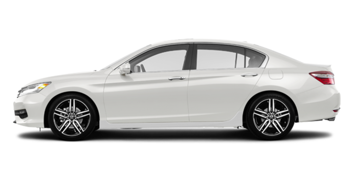 2017 Honda Accord Sedan TOURING V-6 | Photo 4 | White Orchid Pearl