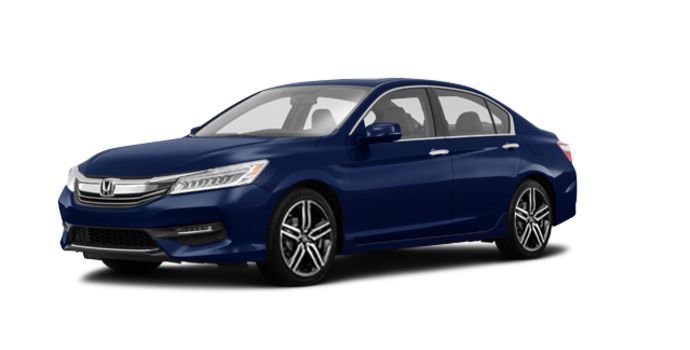 2017 Honda Accord Sedan TOURING V-6 | Photo 6 | Obsidian Blue Pearl