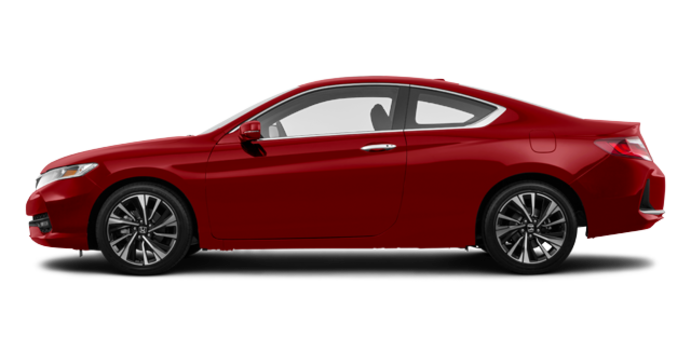 2017 Honda Accord Coupe EX-HONDA SENSING | Photo 4 | San Marino Red