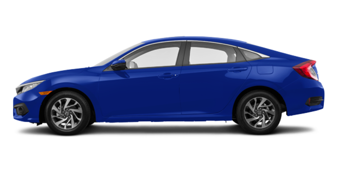 2017 Honda Civic Sedan EX | Photo 4 | Aegean Blue Metallic